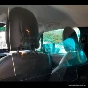FX41- Placa de Proteção Petg para Uber Taxi Carro 1000x650 Mm