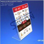 PF18-Porta Folheto de mesa 30x42 cm A3