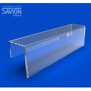 PF35-Porta Folhetos Para Baia 5x21 Cm