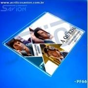 PF66- Porta Folheto parede (Envelope)  A4 horizontal