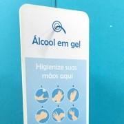 TT20 - Totem de álcool em gel