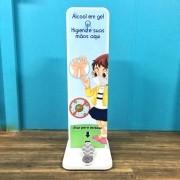 TT21 - Totem de álcool em gel Infantil