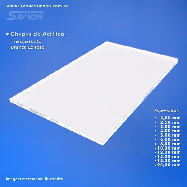 AW06-Chapa de Acrílico colorido 1000x2000x6,00 mm