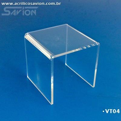 VT04-Banqueta Expositor 10x10x10 cm