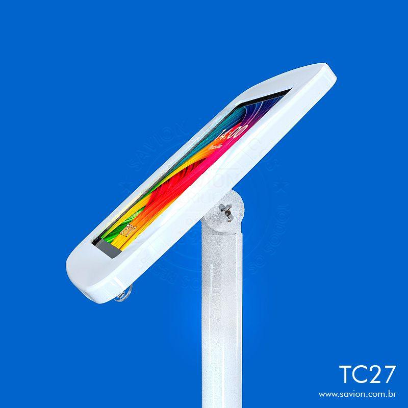 """TC27-Suporte Em Acrilico De Piso Para Samsung Tab A Sm T510 10,1"""""""