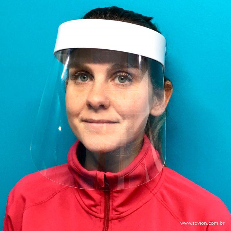 MC02- Conj 5 Unidades de Máscara de Proteção Total Facial Face Shield