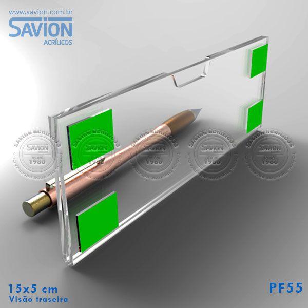 PF55-Porta Etiqueta de Parede 15x5 Cm