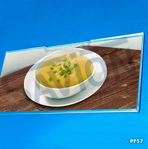 PF57-Porta Etiqueta de Parede 20x10 Cm