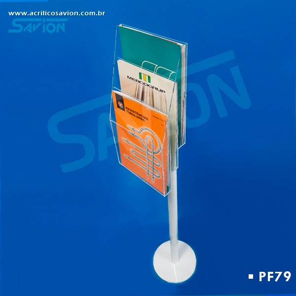 PF79 Display 3 Bolsas A4 de Piso 30x30x130 cm