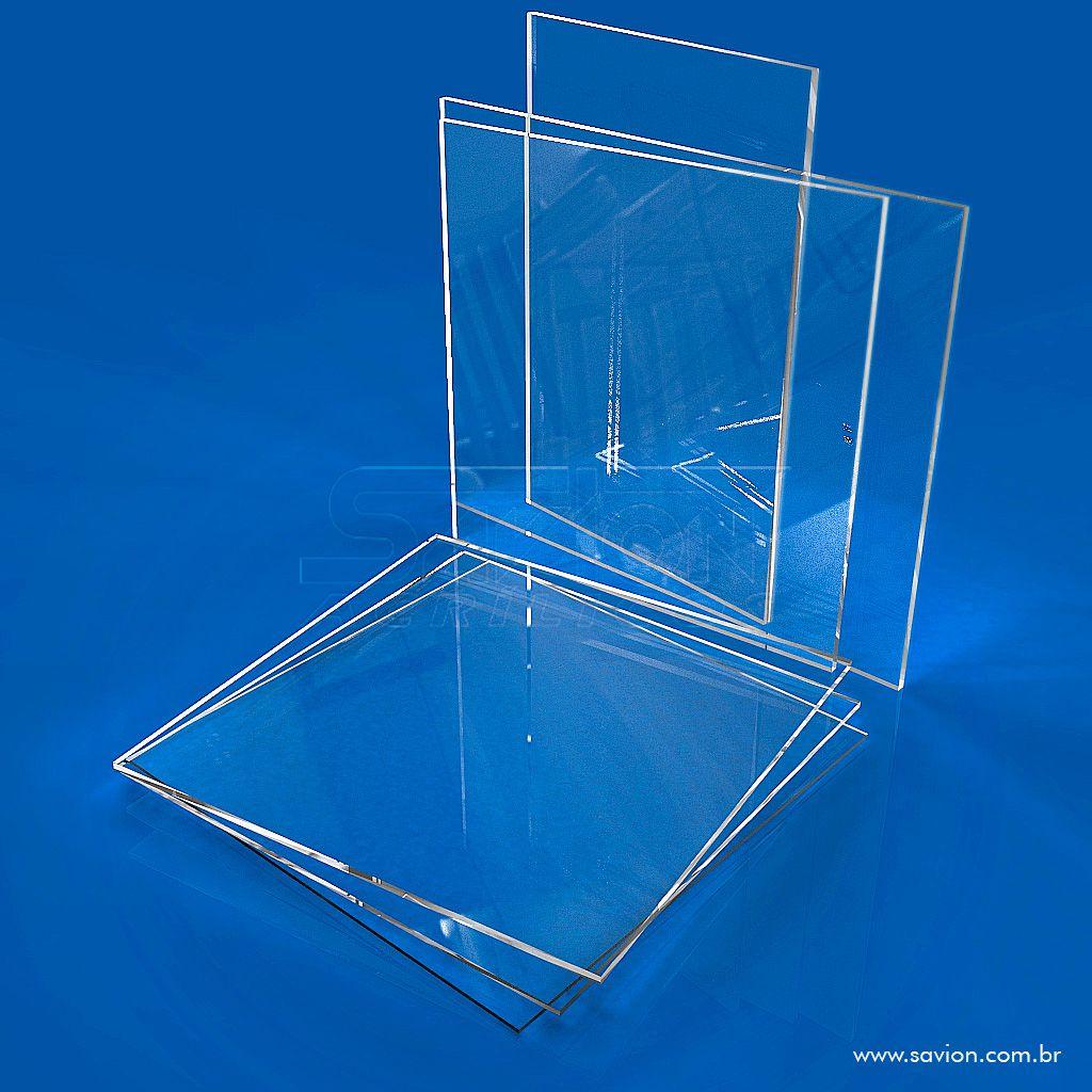 RC01-Placa em acrilico transparente 66x50cm com 2mm de espessura