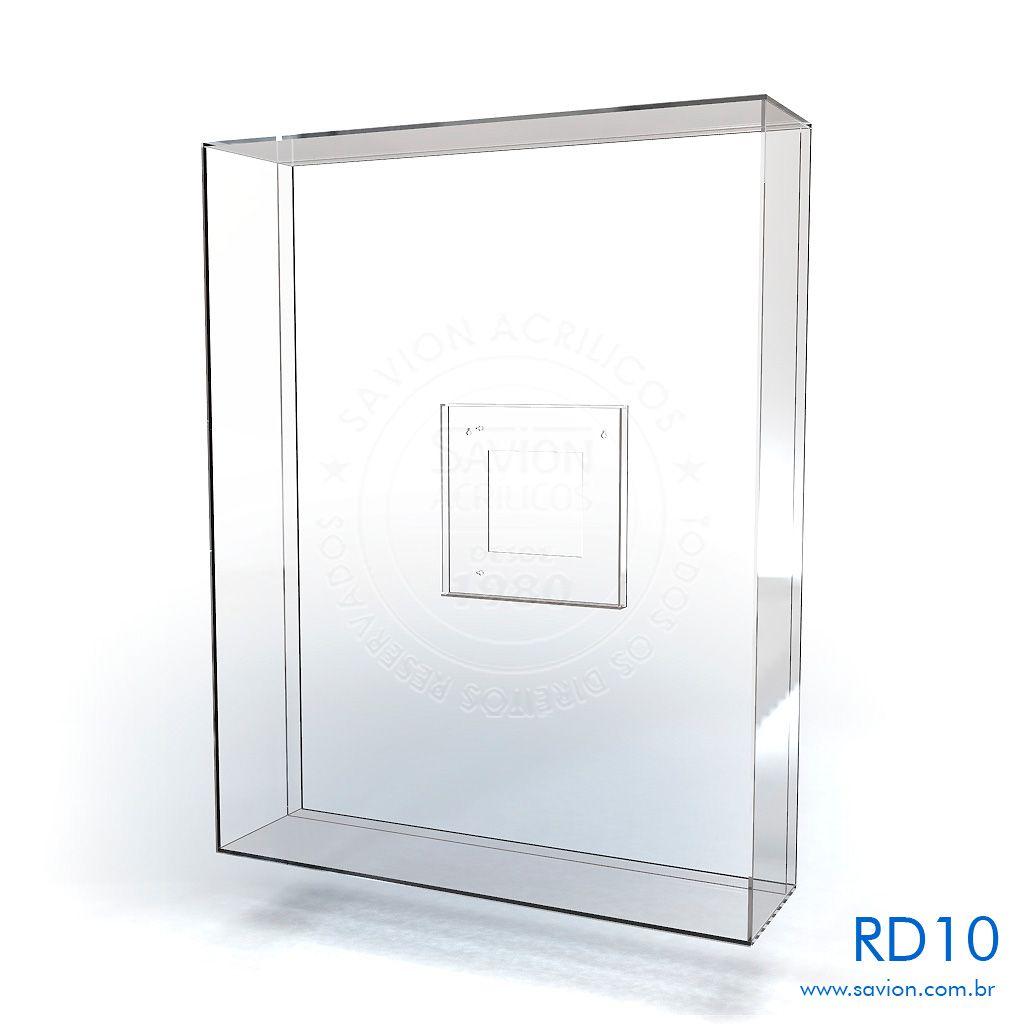 RD10-Quadro em Acrílico para Camiseta