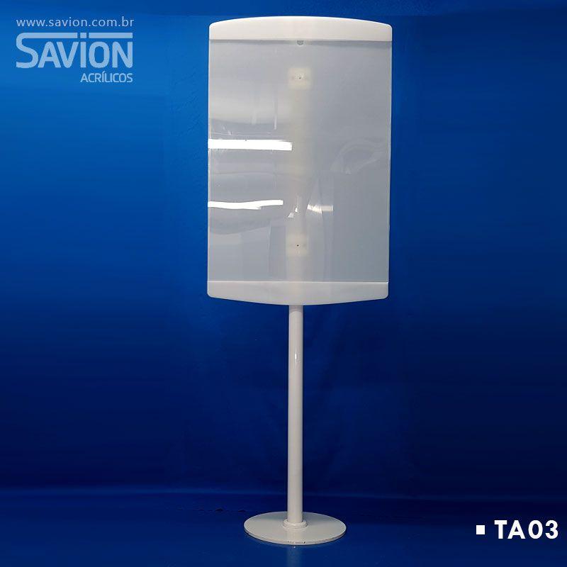 TA03 Totem Para Folheto A1 60x40x170 Cm