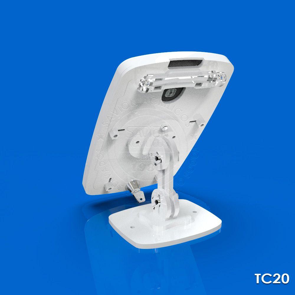 TC20-Suporte Em Acrilico Tablet 7 Polegadas Mesa Parede