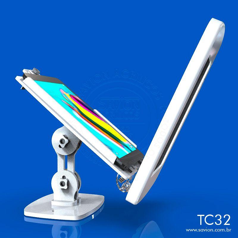 """TC32-Suporte Em Acrilico Mesa e Parede Samsung Tab Sm-t290 8"""""""