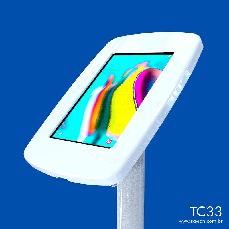"""TC33-Suporte Em Acrilico De Piso Para Samsung Tab A T290 8"""""""
