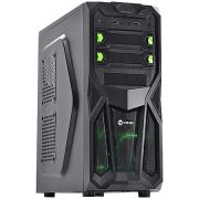 Gabinete Gamer VX Blazing LED Verde