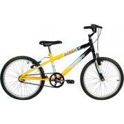 Bicicleta Ocean Preta e Amarela ARO 20 Verden 10104