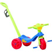 Triciclo KID CROSS Passeio AZUL Bandeirante 634
