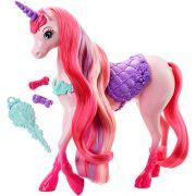 Barbie Unicornio Penteados Magicos Mattel DHC38