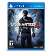 Game Uncharted 4: a Thiefs END - PS4