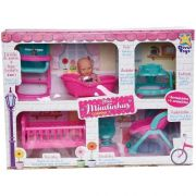 Boneca Mini Miudinhas Casinha Divertoys 675
