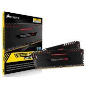 Memoria Desktop Gamer DDR4 Corsair CMU32GX4M2C3000C15R Vengeance 32GB KIT (2X16GB) 3000MHZ CL15 DIM