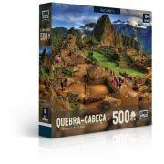 QUEBRA-CABEÇA 500 Peças - Maravilhas do Mundo Moderno Machu Picchu Game Office 2306