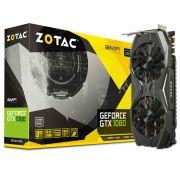 Geforce Zotac GTX Entusiasta Nvidia ZT-P10800C-10P GTX 1080 AMP 8GB DDR5X 256BIT 10GBPS DVI HDMI DP