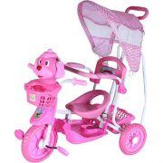 Triciclo Gangorra Belfix Cabeça Cachorro Rosa 910700