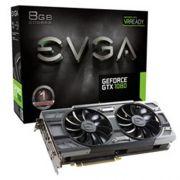 Placa de Video EVGA Geforce GTX 1080 FTW DT Gaming ACX 3.0 8GB DDR5X 256BITS - 08G-P4-6284-KR