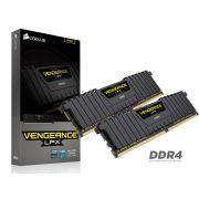 Memoria Desktop Gamer DDR4 Corsair CMK16GX4M2B3000C15 16B KIT (2X8GB) 3000MHZ DIMM CL15 Vengeance