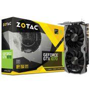 Geforce Zotac GTX Entusiasta Nvidia ZT-P10700G-10M GTX 1070 8GB DDR5 256BIT 8008MHZ  DVI HDMI DP