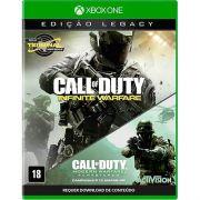 Jogo CALL OF Duty:infinite Warfare Legacy Edition XBOX ONE.