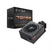 Fonte 80PLUS Bronze EVGA 110-BQ-0750-V0 BQ 750W ATX PFC Ativo S/CABO de Forca