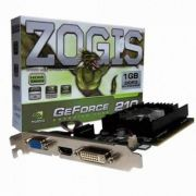Placa de Video Zogis Geforce GT210 1GB DDR2 64BITS -  ZO210 -1GD2LP