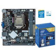 Placa Mae com Processador INTEL Centrium C2014-H81H3-M4 Core I5-4440 3.10GHZ DDR3 1600MHZ H81 HDMI V