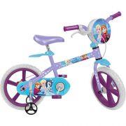 Bicicleta Infantil Frozen Disney ARO 14 Bandeirante 2485