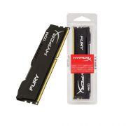 Memoria 16GB 2133MHZ DDR4 Desktop Gamer HYPER X HX421C14FB/16 FURY NON-ECC CL14 DIMM BLACK INT