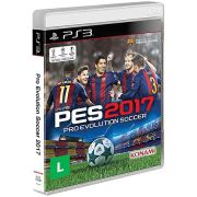 Jogo PES 2017 PS3 PRO Evolution Soccer