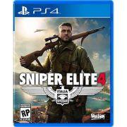 Jogo Sniper Elite 4 PS4