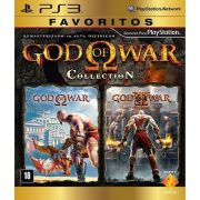 Jogo GOD OF WAR Collection - Favoritos - PS3
