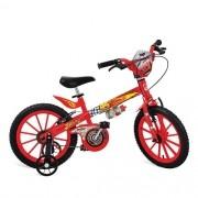 Bicicleta CARS Disney ARO 16 Bandeirante 2337