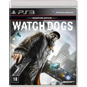 Jogo PS3 WATCH DOGS Signature