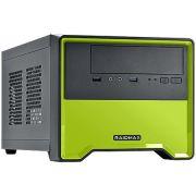Gabinete Gamer ELEMENT 101BG Case - COR Verde - C/ Cooler Traseiro de 80MM - sem Fonte