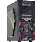 Gabinete MID Tower FOX S/ Fonte C/ 01 Cooler LED Vermelho Frontal 01 Cooler Traseiro Edicao Limitada