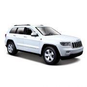 Carrinho Maisto Jeep GRAND Cherokee Laredo Escala 1:24 Branco 31205
