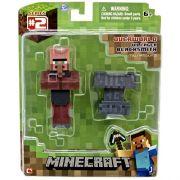 Boneco Minecraft Figura Villager Blacksmith Multikids BR399