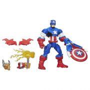 Boneco Avengers Super Hero Mashers Battle Capitao America Hasbro A6833 9494