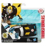 Boneco Transformers RID ONE STEP Bumblebee Hasbro B0068 10799