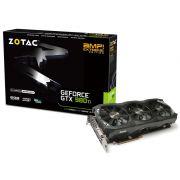 Geforce Zotac GTX Entusiasta Nvidia ZT-90505-10P GTX 980TI EXT. 6GB DDR5 384BIT 7220MHZ DVI HDMI DP